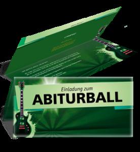 einladungskarte-abiball-gitarre-gruen-falz-oben