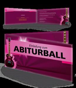 einladungskarte-abiball-gitarre-pink-falz-seite