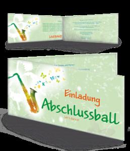 einladungskarte-abiball-saxophon-gruen-falz-seite