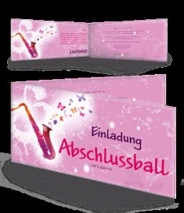 einladungskarte-abiball-saxophon-pink-falz-seite
