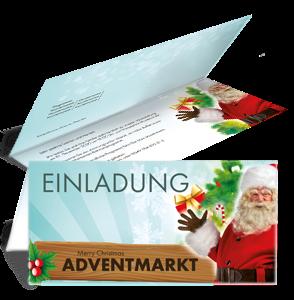 einladungskarte-adventmarkt-santa-claus-tuerkis-falz-oben