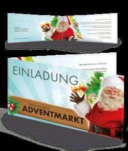 einladungskarte-adventmarkt-santa-claus-tuerkis-falz-seite