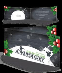 einladungskarte-adventmarkt-zweig-schwarz-falz-seite