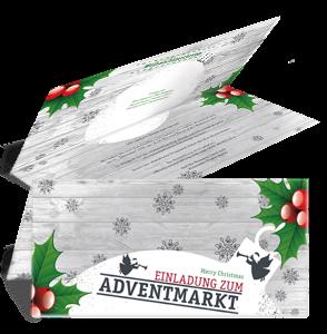 einladungskarte-adventmarkt-zweig-weiss-falz-oben