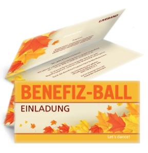 einladungskarte-ball-erntedank-orange-falz-oben