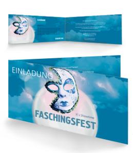 einladungskarte-fasching-venezianische-maske-blau-falz-seite