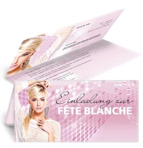 Einladung Fete Blanche
