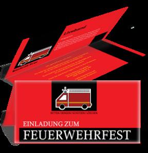 einladungskarte-feuerwehrfest-auto-rot-falz-oben