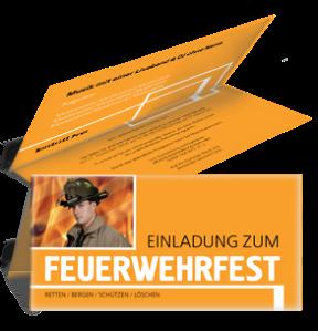 einladungskarte-feuerwehrfest-classico-orange-falz-oben