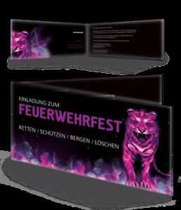 einladungskarte-feuerwehrfest-creative-tiger-violett-falz-seite