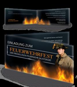 einladungskarte-feuerwehrfest-fire-department-braun-falz-seite