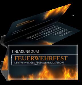 einladungskarte-feuerwehrfest-fire-dept-braun-falz-oben
