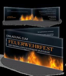 einladungskarte-feuerwehrfest-fire-dept-braun-falz-seite