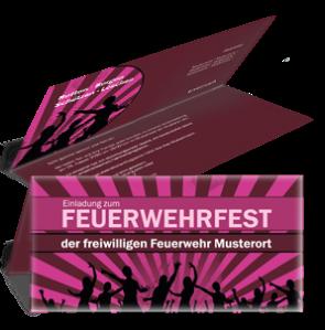 einladungskarte-feuerwehrfest-jugendstil-lila-falz-oben