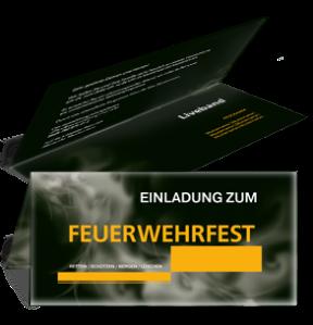 einladungskarte-feuerwehrfest-rauch-orange-falz-oben