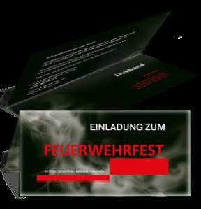 einladungskarte-feuerwehrfest-rauch-rot-falz-oben
