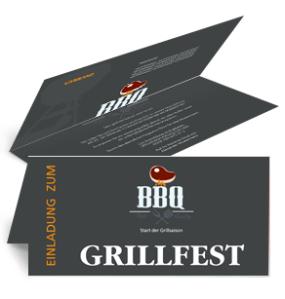 einladungskarte-grillfest-barbecue-party-grau-falz-oben