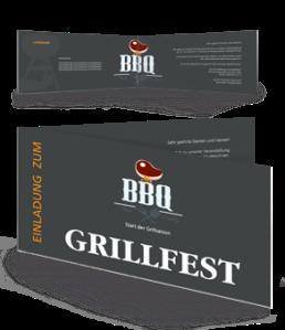 einladungskarte-grillfest-barbecue-party-grau-falz-seite