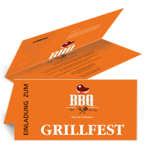 einladungskarte-grillfest-barbecue-party-orange-falz-oben