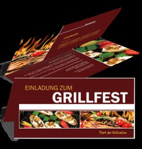 einladungskarte-grillfest-grilling-braun-falz-oben