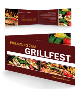 einladungskarte-grillfest-grilling-braun-falz-seite