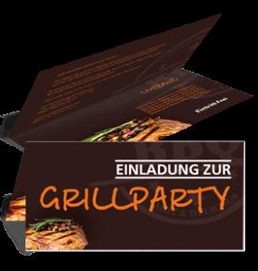 einladungskarte-grillfest-steak-braun-falz-oben