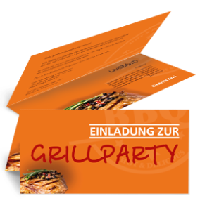 einladungskarte-grillfest-steak-orange-falz-oben