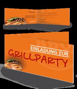 einladungskarte-grillfest-steak-orange-falz-seite