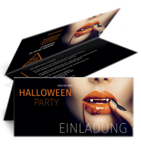 einladungskarte-halloween-lips-orange-falz-oben