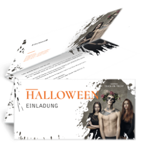 einladungskarte-halloween-mr-adam-orange-falz-oben