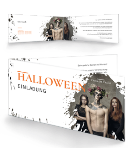 einladungskarte-halloween-mr-adam-orange-falz-seite