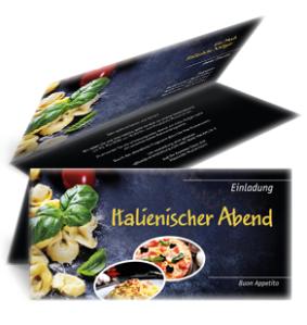 einladungskarte-italienischer-abend-buon-appetito-gelb-falz-oben