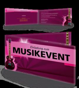 einladungskarte-musikfest-gitarre-violett-falz-seite