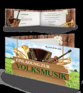 einladungskarte-musikfest-instrumente-gruen-falz-seite