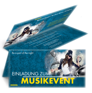 einladungskarte-musikfest-party-blau-falz-oben