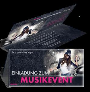 einladungskarte-musikfest-party-schwarz-falz-oben