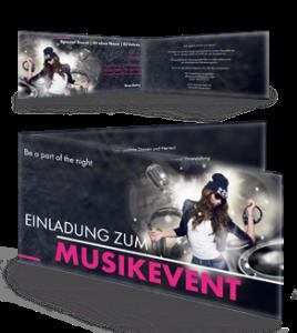 einladungskarte-musikfest-party-schwarz-falz-seite