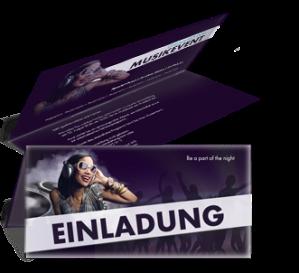 einladungskarte-musikfest-people-violett-falz-oben