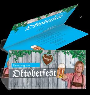 Einladungskarte Oktoberfest I Mog Di Falz Oben Blau ...