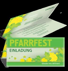 einladungskarte-pfarrfest-erntedank-gruen-falz-oben