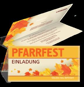 einladungskarte-pfarrfest-erntedank-orange-falz-oben