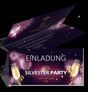 einladungskarte-silvester-feuerwerk-falz-oben-violett