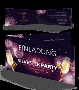 einladungskarte-silvester-feuerwerk-falz-seite-violett