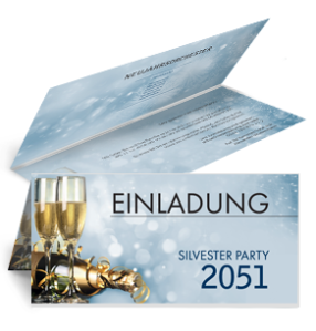 einladungskarte-silvester-goldrausch-falz-oben-blau