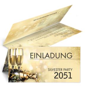 einladungskarte-silvester-goldrausch-falz-oben-gold