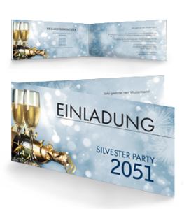 einladungskarte-silvester-goldrausch-falz-seite-blau