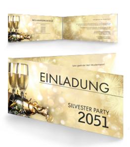 einladungskarte-silvester-goldrausch-falz-seite-gold