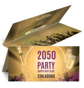 einladungskarte-silvester-party-falz-oben-gold