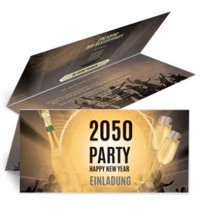 einladungskarte-silvester-party-falz-oben-schwarz