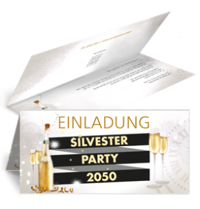 einladungskarte-silvester-sektflasche-falz-oben-weiss